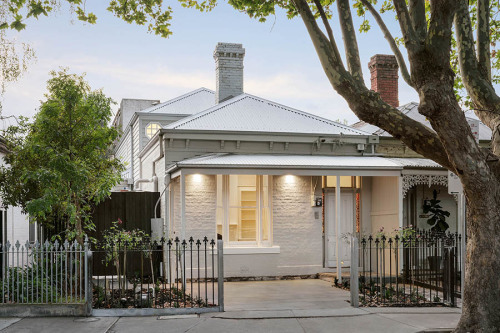 South Yarra residential victorian home exterior
