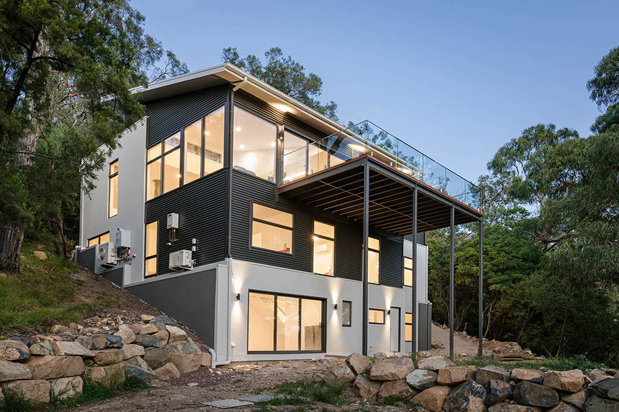 Ferntree Gully residential house home exterior